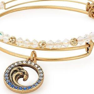 Alex and Ani Ocean Force s/2 Bracelets Blue NWT